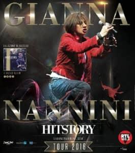 Gianna Nannini History Tour 2016